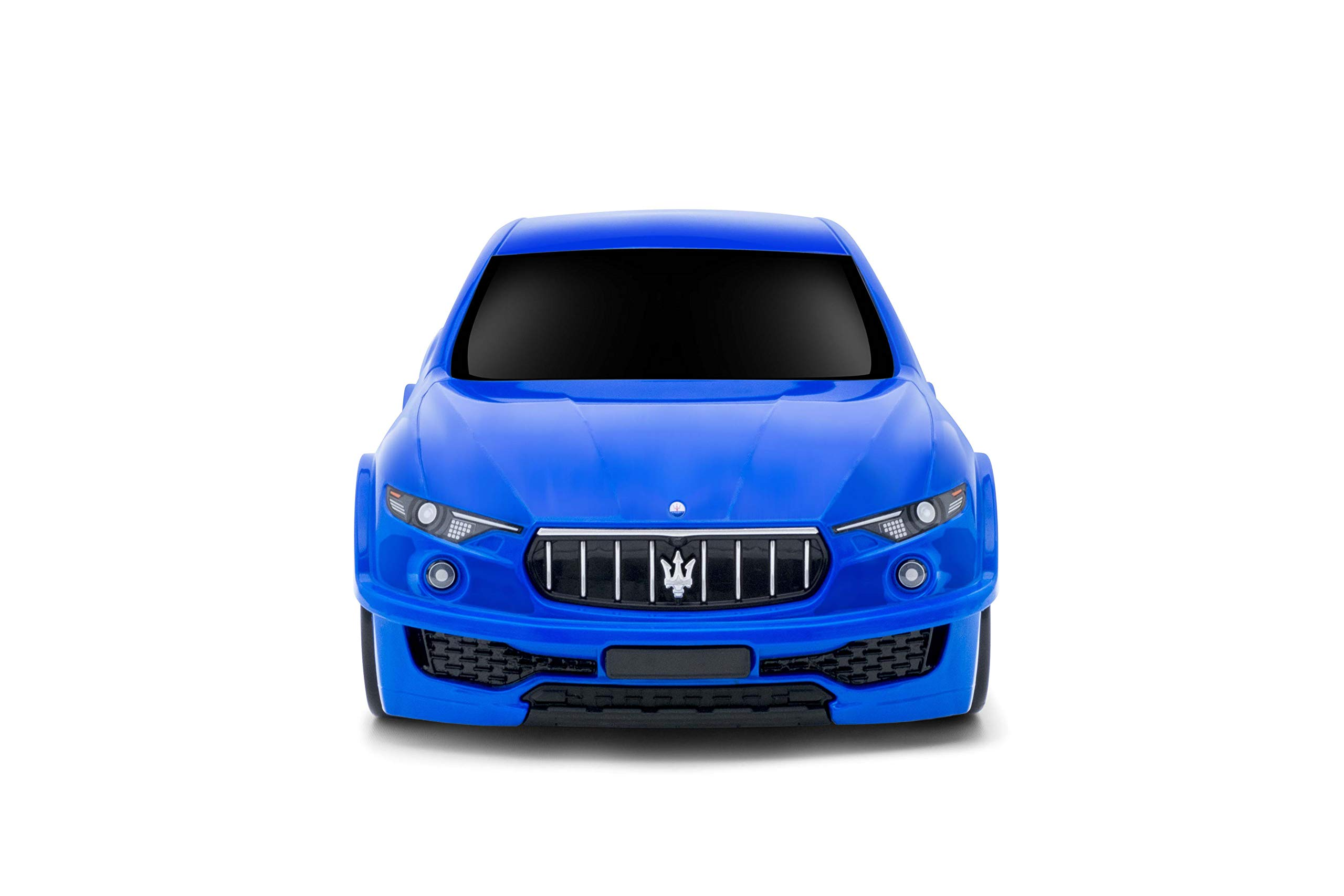 Lightweight Maserati Levante Kids Carry-on Hand Luggage Suitcase- Blue
