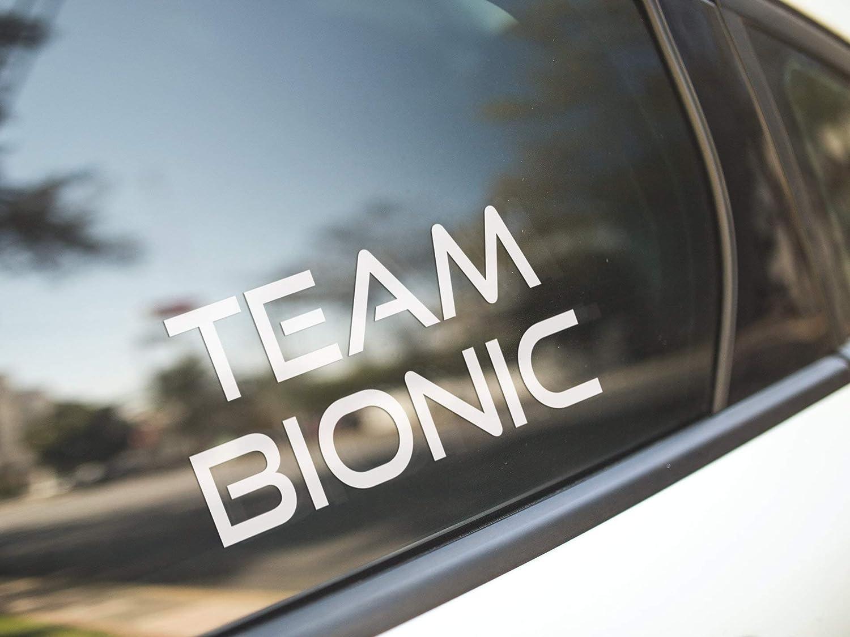 Lplpol Premium Anti-Dust Vinyl Decal Team Bionic Knee Hip Shoulder Prosthesis Prosthetic Arm Surgery Pt Physical Therapy/Vinyl Sticker Decal Bumper Laptop Car Window Art Gift 6 Inches