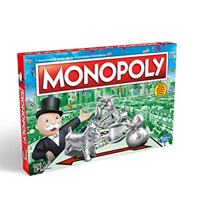 Hasbro Gaming Monopoly - Juego de las Propiedades Inmobiliarias, Edición Cataluña, Calles de Barcelona (C1009118)