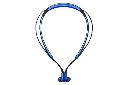 Samsung Level U Banda para Cuello Binaural Inalámbrico Azul - Auriculares (Inalámbrico, Banda para