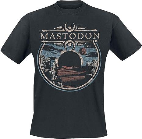 Mastodon Horizon Hombre Camiseta Negro, Regular: Amazon.es: Ropa y accesorios