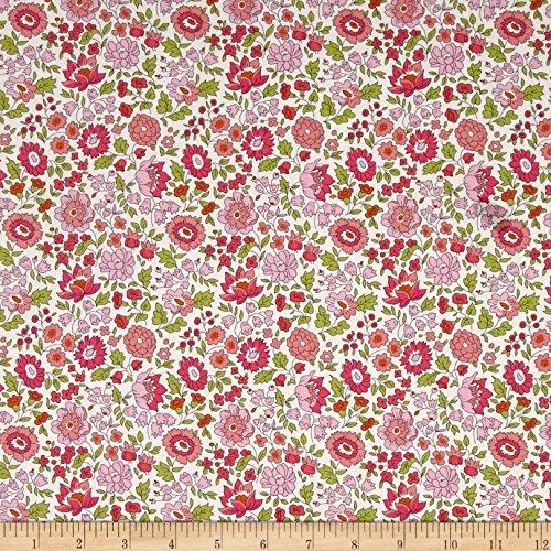 Liberty Fabrics 0548431 Tana Lawn D'Anjo Pink Fabric by The ()