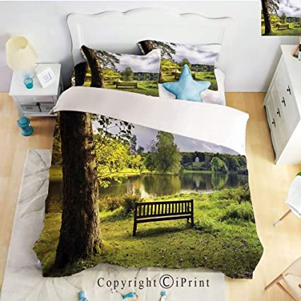 Swell Amazon Com Home Luxury 4 Piece Bed Sheet A Bench Pabps2019 Chair Design Images Pabps2019Com