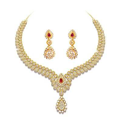 designs beautiful jewellery necklace uncut diamond