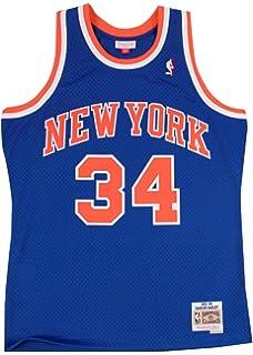 3c0d0b698d2 New York Knicks Charles Oakley Mitchell   Ness NBA Men s Hardwood Classic  Swingman Jersey