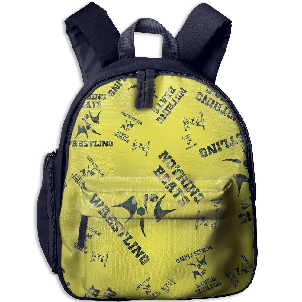 Nothing Beats Wrestling Camo Kids Boys Lunch Bag Fashion Floral School Backpacks
