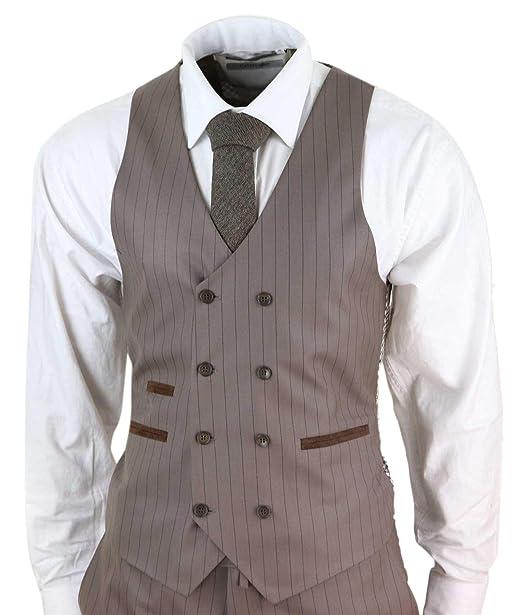 HOMME Noir Coupe Ajustée Costume en laine mélangée