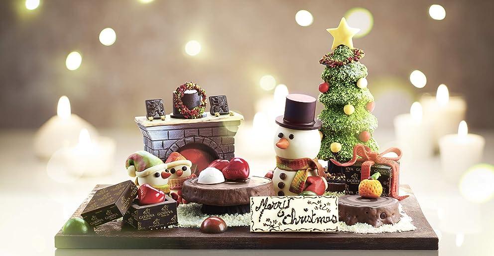 AmazonのためにGODIVAショコラティエがクリスマスギフトを手作り