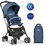 Besrey Stroller Lightweight Travel Buggy Foldable Baby Pushchair - Blue