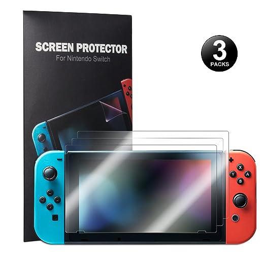 42 opinioni per Nintendo Switch Pellicola Protettiva- Younik 0.125mm/4H Proteggi Schermo Ad Alta