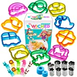 Sandwich Cutters for Kids - Great for Toddler Lunch Box and Containers - Bento Box Accessories and Uncrustable Sealer…