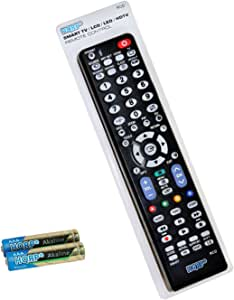 Mando a distancia HQRP para televisión Samsung Series 5 H5000; UE22H5000, UE32H5000, UE48H5000, UE50H5000 Full HD LED Smart TV de 22