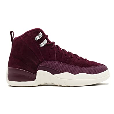 new styles bfea3 c3bb6 Amazon.com | AIR Jordan 12 Retro BG (GS) 'Bordeaux' - 153265 ...