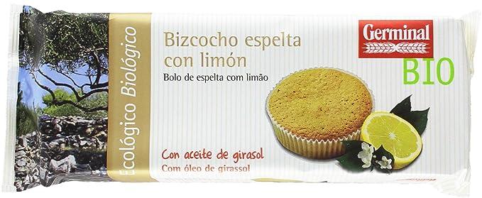 Germinal Bizcocho de Espelta con Limón - Paquete de 12 x 180 gr - Total:
