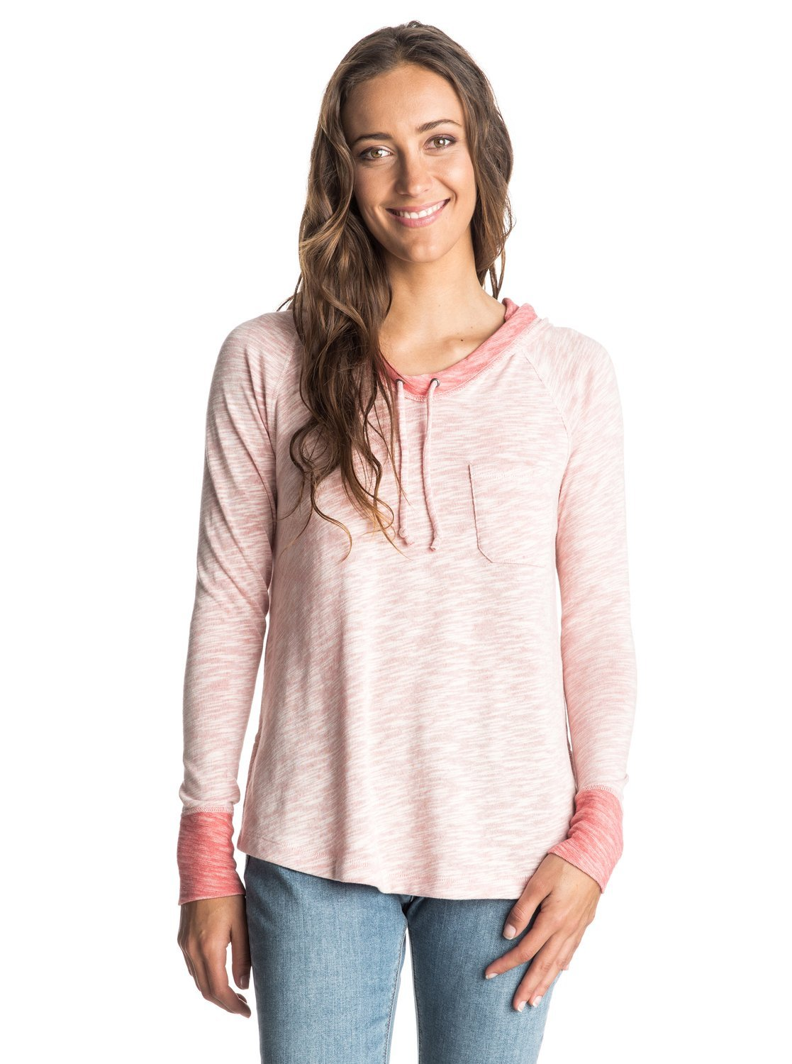 Roxy Hooded Sudadera Boomerang Love Long Sleeve Top Rosa Faded Rose - Solid Talla:M: Quiksilver: Amazon.es: Deportes y aire libre