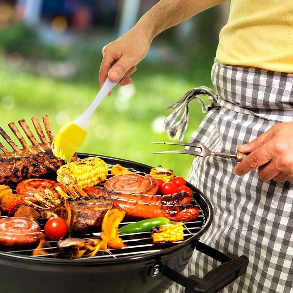 Pasticceria e Pane 6 Pezzi Set di pennelli da Cucina in Silicone per Barbecue FABSELLER