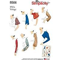 Simplicity 8506 A - Patrones de costura