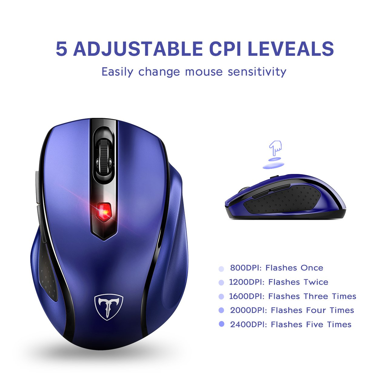 VicTsing MM057 2.4G Wireless Portable Mouse