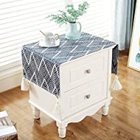 WMMING Bedside Table Cover TV Cabinet Cloth Cover Refrigerator Dust Cover Multi-Purpose Towel Non-Slip Tablecloth…