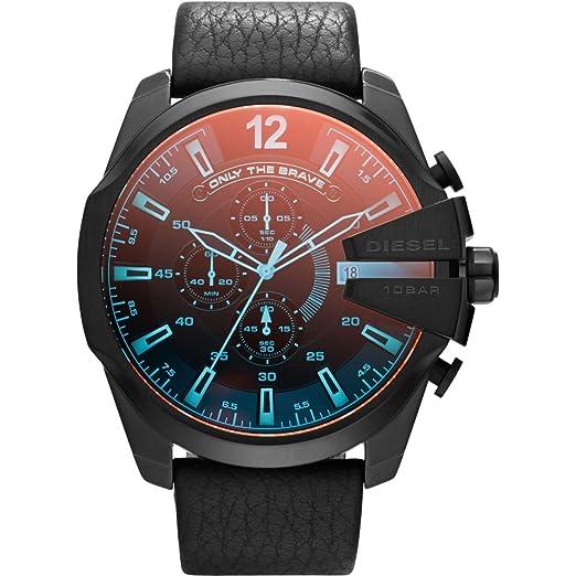 Reloj Cronógrafo para Hombre Diesel Mega Chief DZ4323: Amazon.es: Relojes