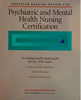 Psychiatric nursing certification review guide for the generalist.