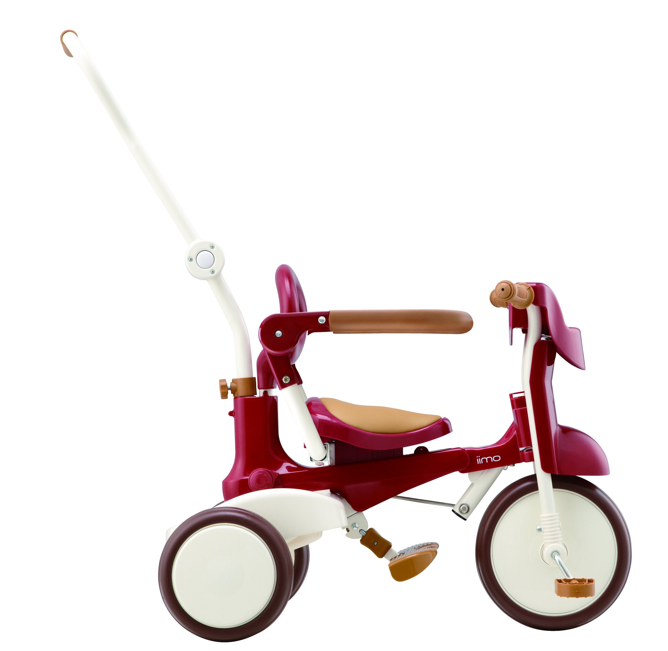 Tricycle Foldable Toddler Iimo02 ~ Eternity Red by iimo (Image #1)