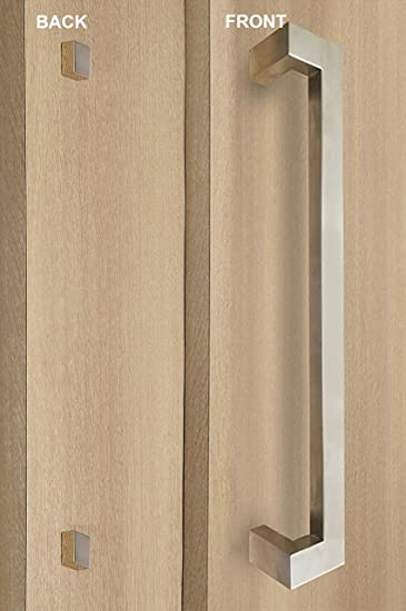 Commercial offset door pulls Crl Strongar Modern Contemporary Offset Rectangle Styleone Single Sideddecorative Fixingdoor Direct Door Hardware Strongar Modern Contemporary Offset Rectangle Styleone Single