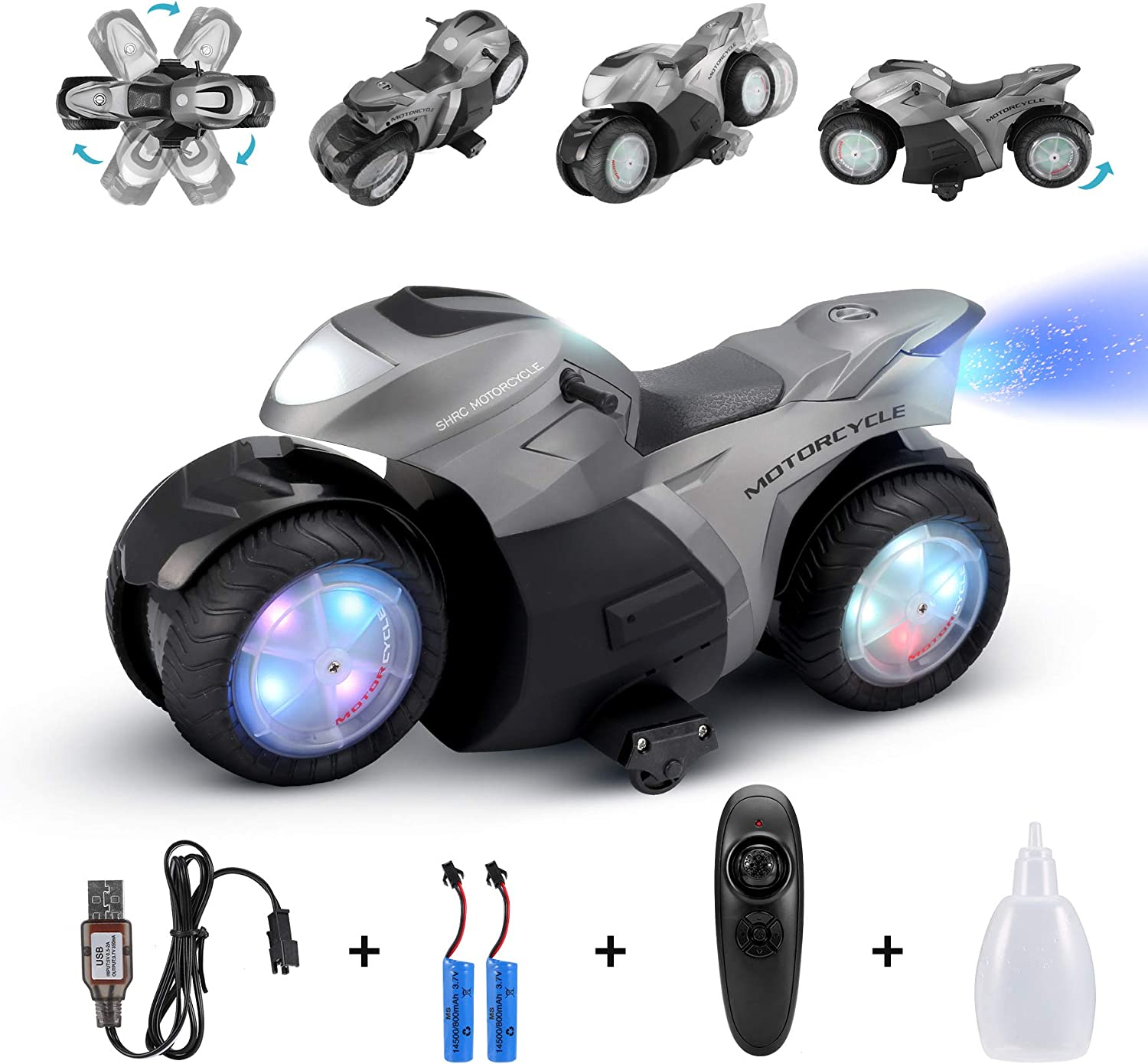 Amazon Promo Code for RC Motorcycle for Kids Remote Control Car Toy for Boy and Girl