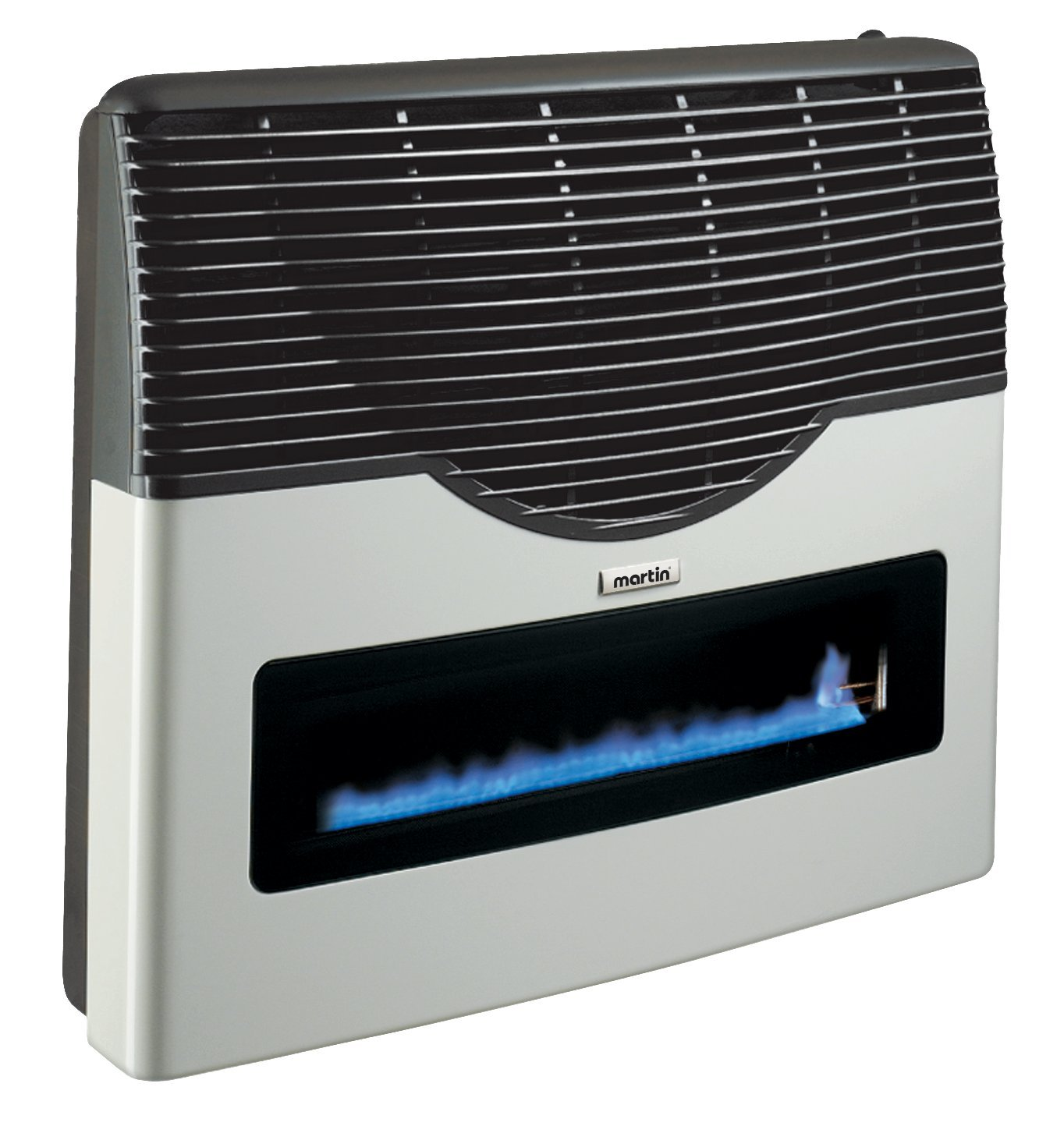 Direct Vent Propane Wall Heater built-in thermostat (low - High dial) and Exclusive Glass Ceramic Window, Clean Gas Energy | Indoor Home, Office, Garage | Easy Installation | Approved USA & CANADA
