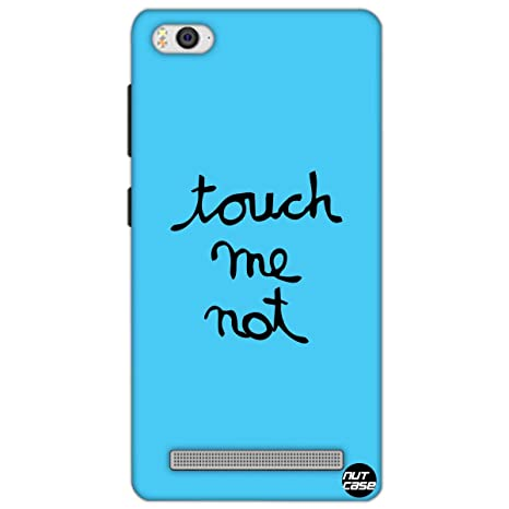check out 4eaa6 19156 Designer Xiaomi Mi4i Case Cover Nutcase -Touch Me Not: Amazon.in ...
