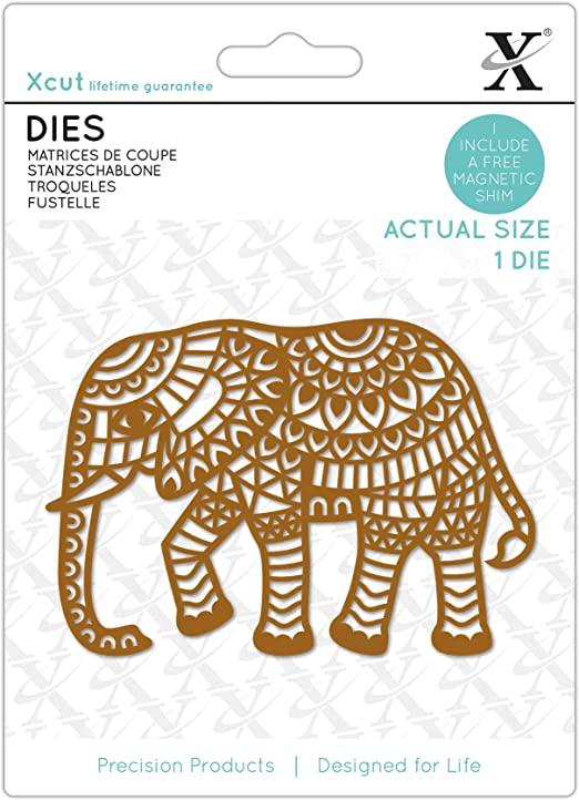 1 Piece Dies Indian Elephant