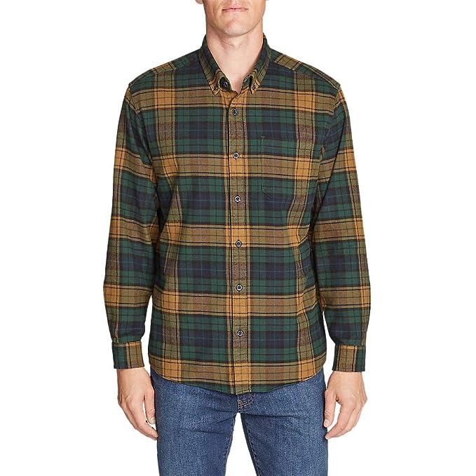 810803a4c04c Eddie Bauer Men s Eddie s Favorite Flannel Relaxed Fit Shirt - Plaid ...