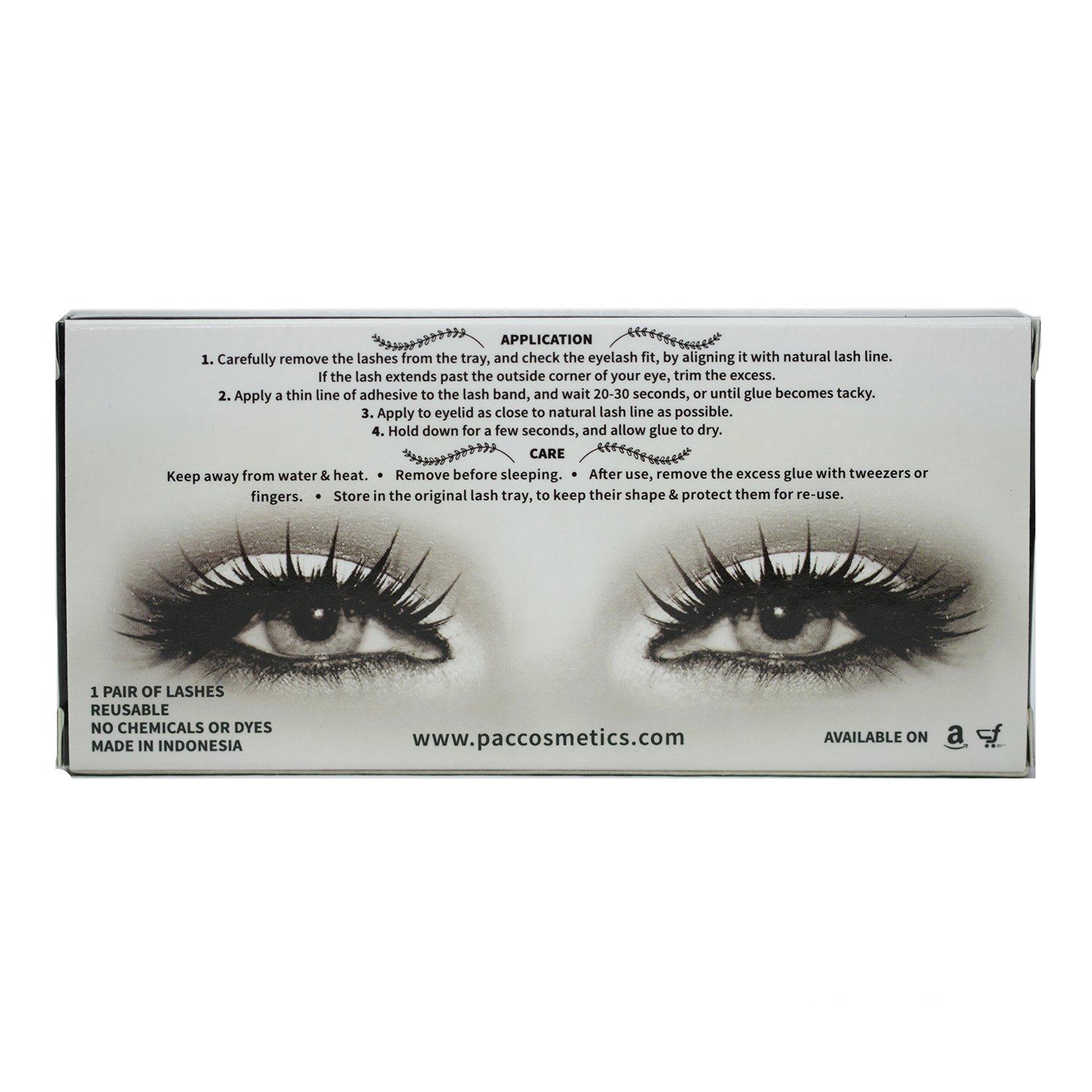 Buy Pac Eye Lashes 53 Online At Low Prices In India Amazon