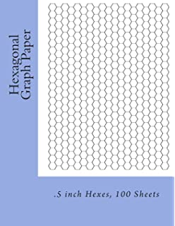 technical sketchbook hexagonal graph paper 1 4 inch designed for
