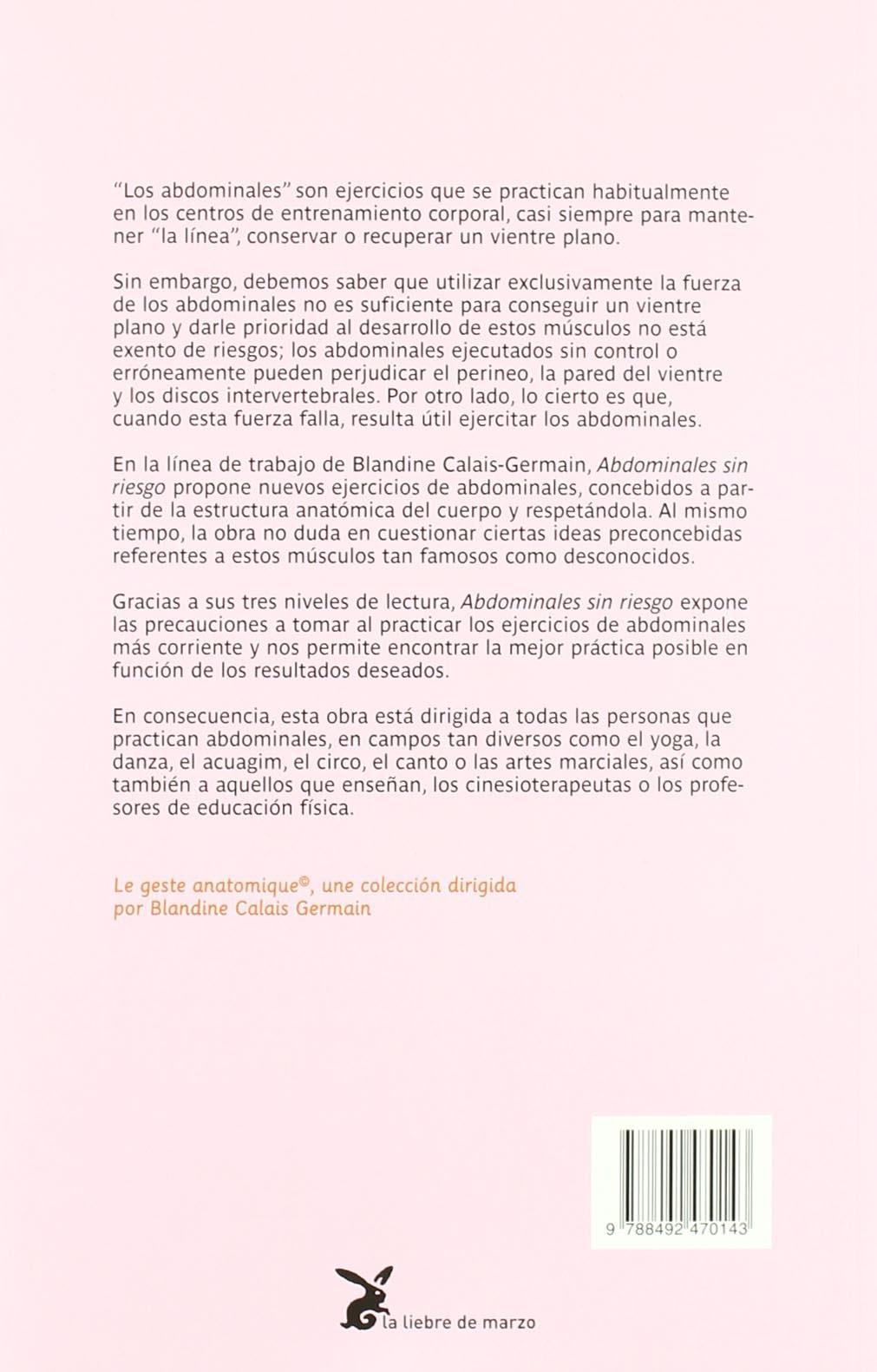 abdominales sin riesgo: BLANDINE CALAIS-GERMAIN ...