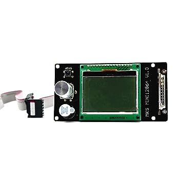 INFORMIC MKS Mini 12864LCD 128 x 64 - Tarjeta SD para impresora 3D ...