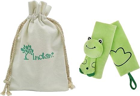 Porte-b/éb/é Bracelet Covers b/éb/és Infant Green Car Seat Covers Sangle Poussette poussette pour ceinture tapis de couverture avec cadeau coton Sac /à cordonnet