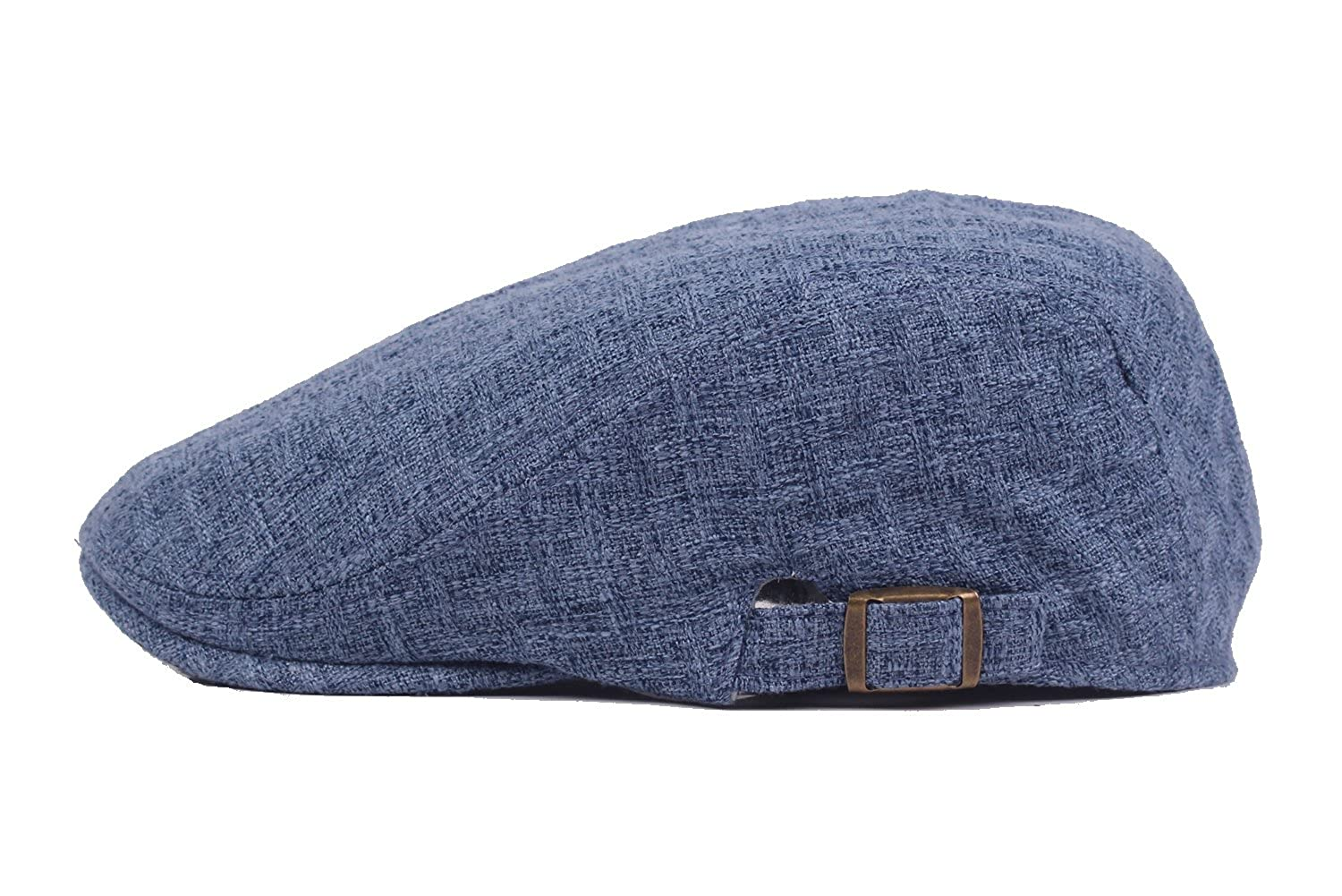 69b182c5f29 Newsboy Irish Cabbie Scally Cap Ivy League Duckbill Hats Throwback Vintage  Flair Comfortable Fit Blue  Amazon.in  Clothing   Accessories