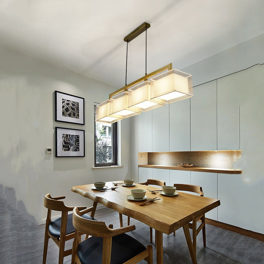 Amazon.com: Lámparas de araña de hierro, moderno, simple ...