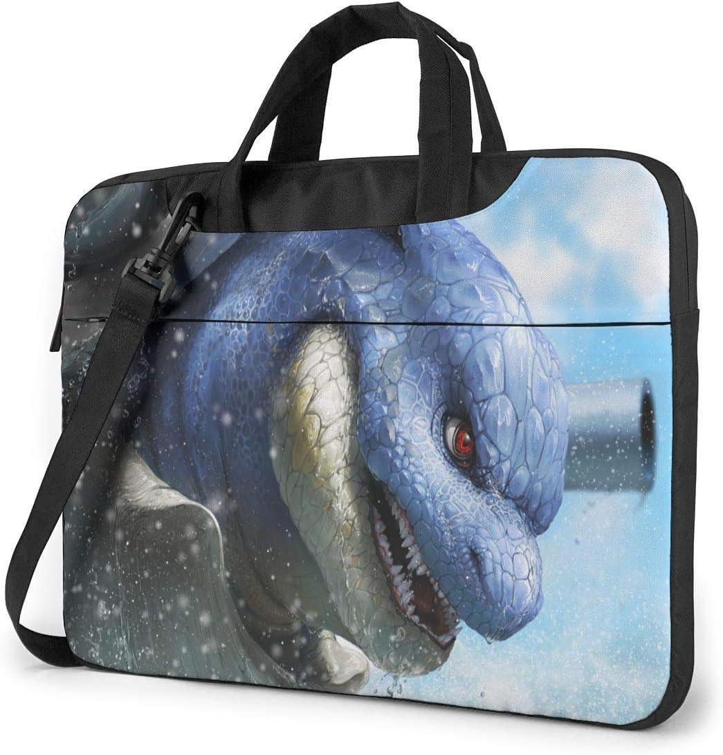 PokÃmon Laptop Shoulder Messenger Bag,Shockproof Computer Bag Fits For14 Inch Laptop and Tablet,Cool Business Casual Briefcase