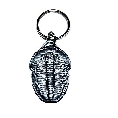 """Elrathia Kingi Trilobite Key Chain Fossil Replica 1 1/2"""" Size #14580 2o: Toys & Games"""
