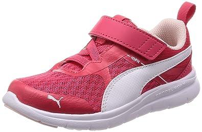 0b1125ca1606 Puma Scarpe Kids Sneakers Flex Essential in Tela rosa 190683-04 ...