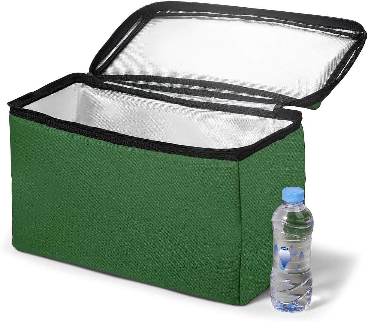 SAMAX Nevera port/átil para Plegable Carrito de Offroad 42x19x24 cm Bolsa T/érmica Almacenamiento Verde