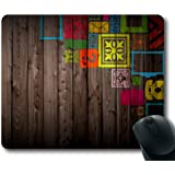 Mouse Pad Custom Large Mouse pad Rubber Mousepad in 9.45*7.87 Inches By AART