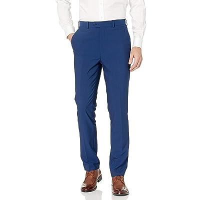 Adolfo Men's Micro Tech Slim Fit Flat Front Suit Pant at Amazon Men's Clothing store