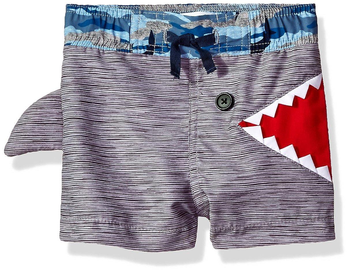 Mud Pie Baby Boys' Shark Swim Trunks 1022117