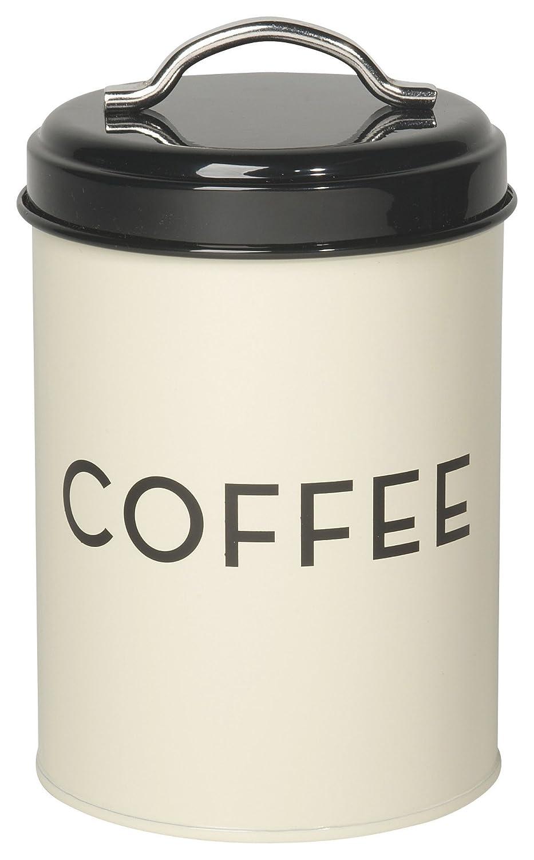 Now Designs Coffee Tin, Ivory L17555aa