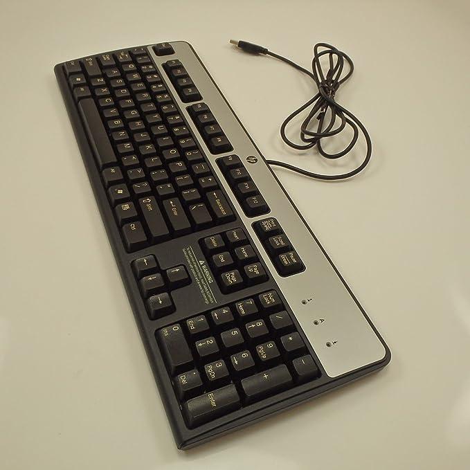 HP USB Essential Keyboard JB US Keyboard 729339-001