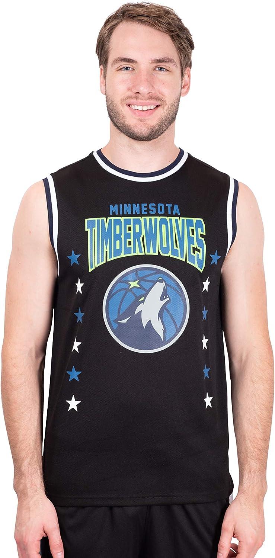 Ultra Game NBA Mens Sleeveless Jersey Tank Top Tee Shirt