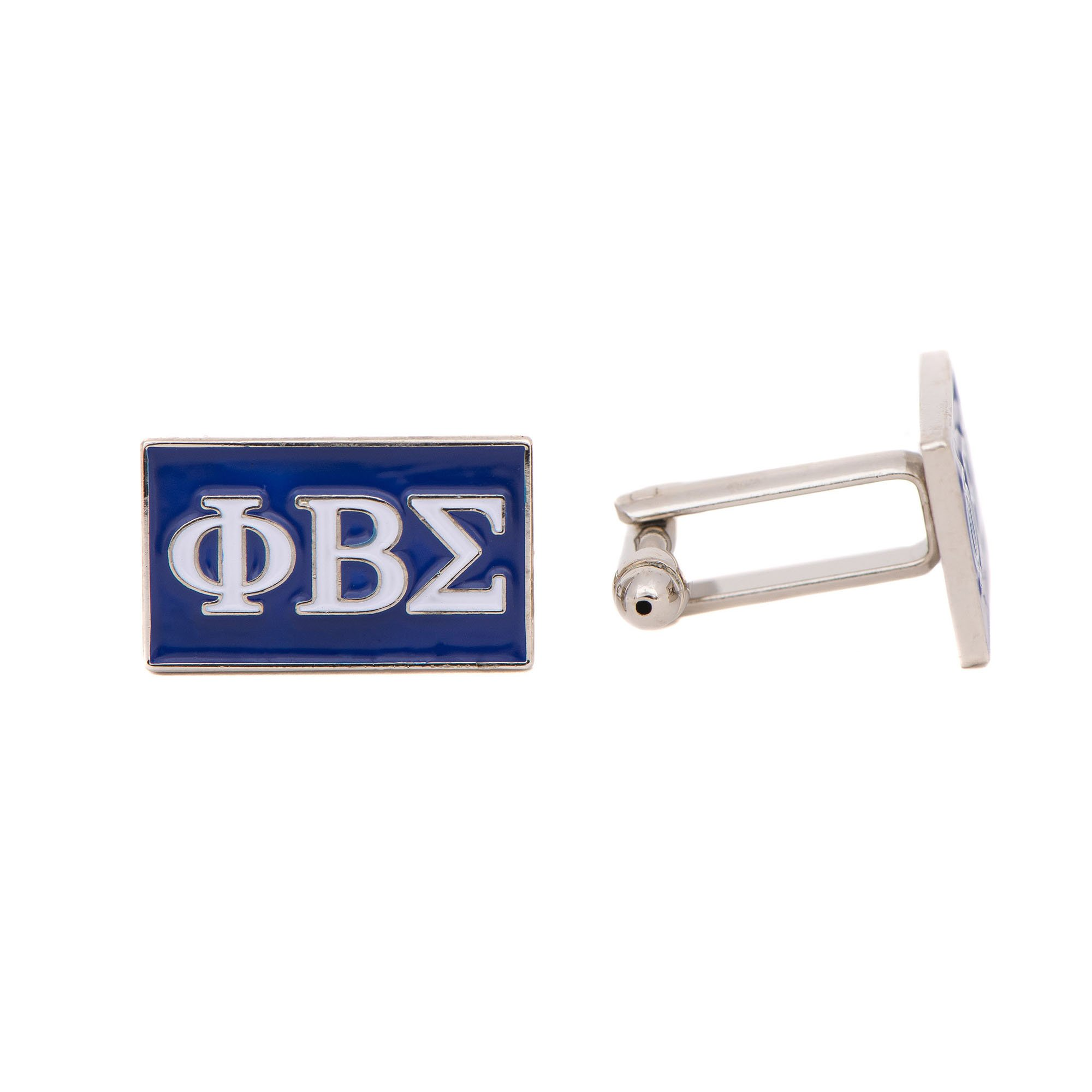 Phi Beta Sigma Fraternity Letter Cufflinks Greek Formal Wear
